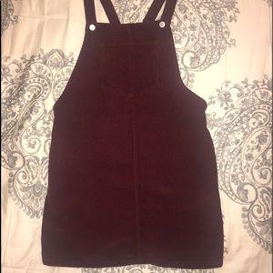 Like new Corduroy Overall Dress